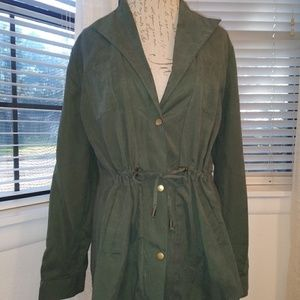 Umgee Green Utility Jacket Large